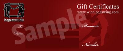 Standard Hepcat Studio Gift Certificate