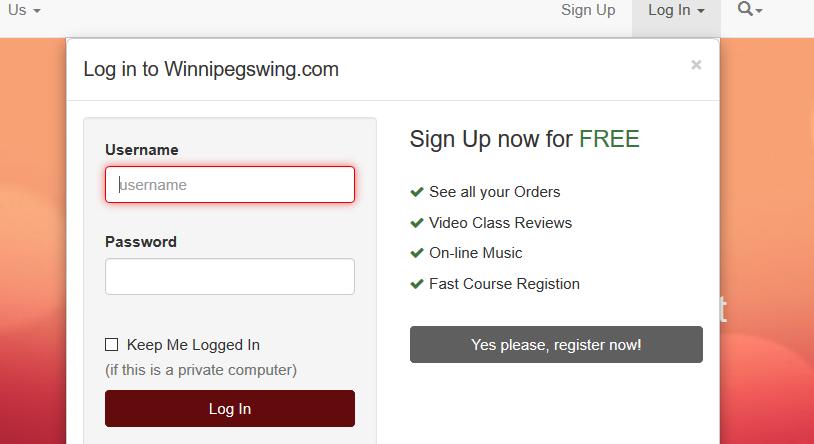 Sign Up or Login