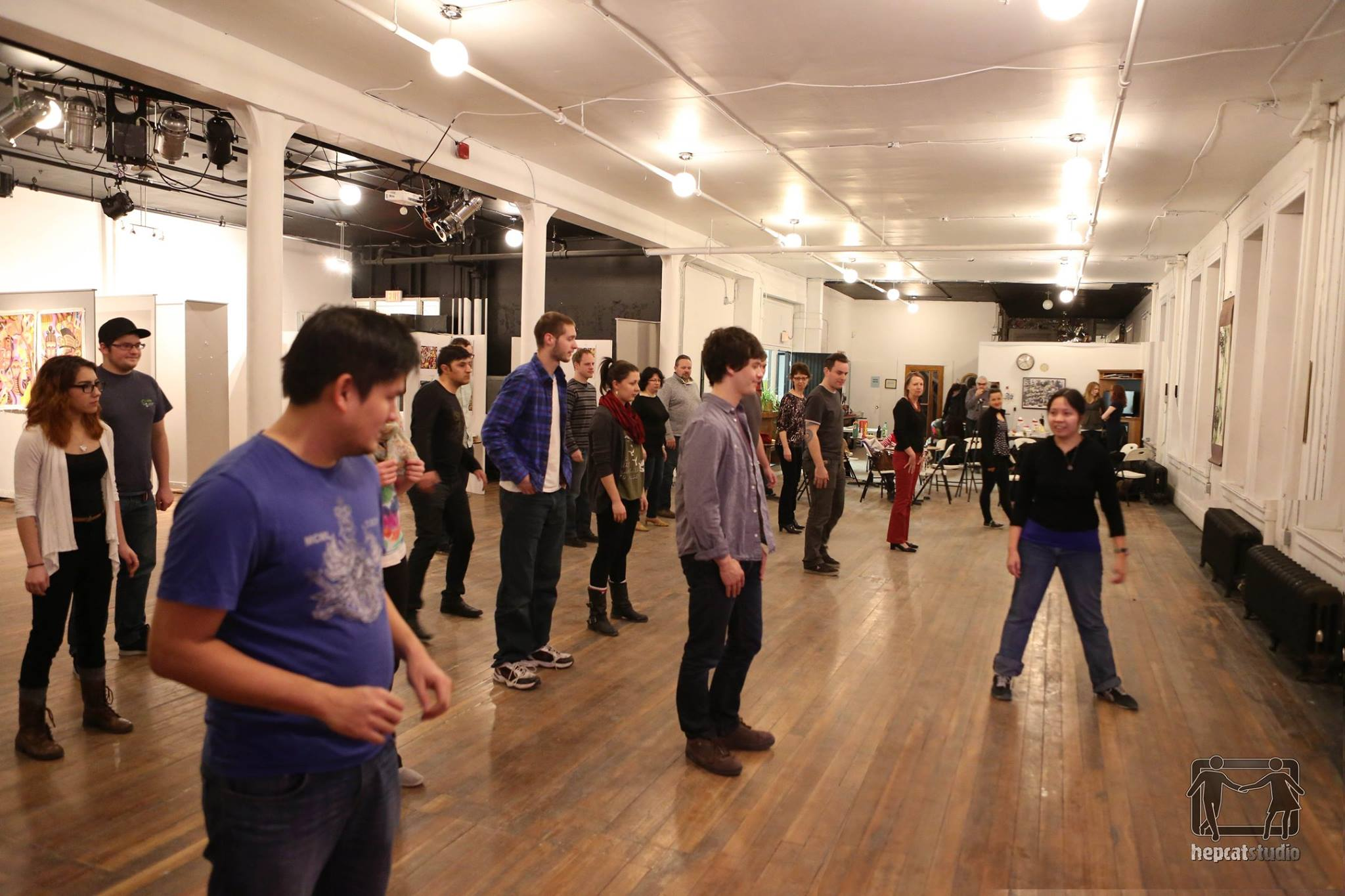 Swing Dancing Open House (First Friday)