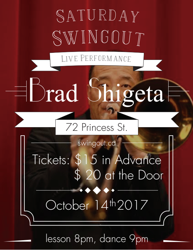 Saturday Swingout with Brad Shigeta